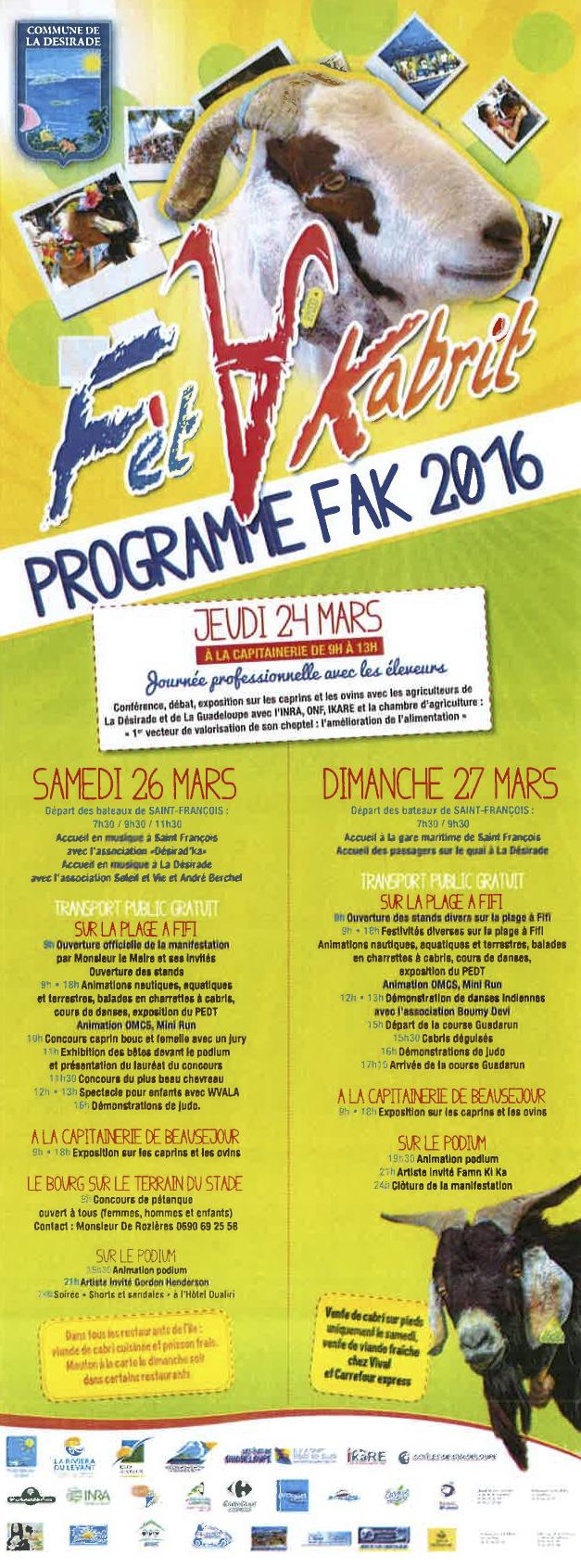 FAK 2016 Programme