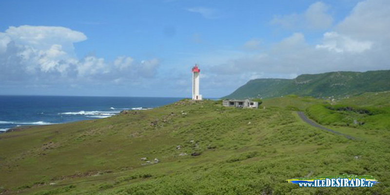 Phare de la Pointe Doublé à Désirade 97127 Guadeloupe