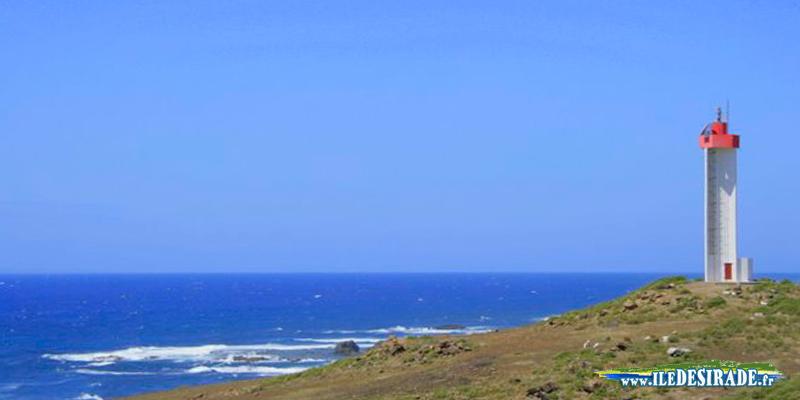 Phare de la Pointe Doublé à La Désirade en Guadeloupe 97127