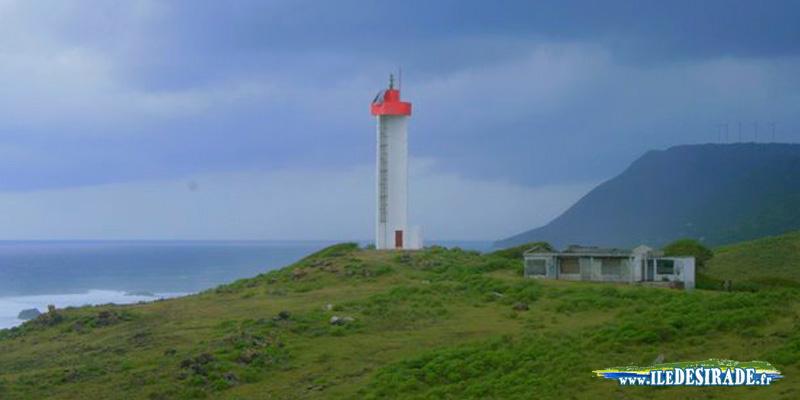 Le phare de la Pointe Doublé, à la Désirade