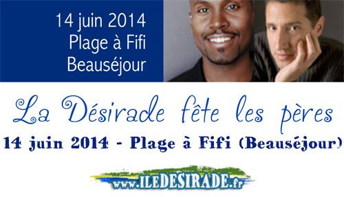 Fête des pères 2014 à Désirade