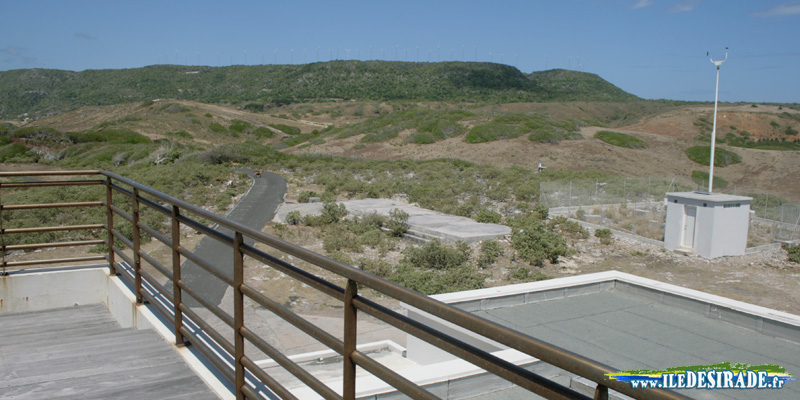 La station météo de La Désirade, en Guadeloupe